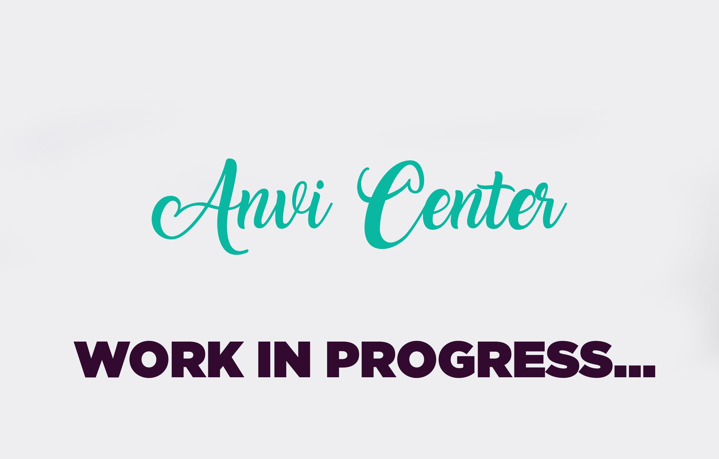 work in progress anvi